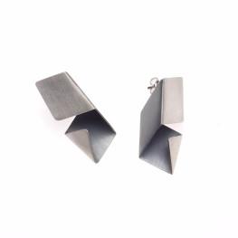 ALE. Kolczyki ORIGAMI (O/K -22- AG), srebro