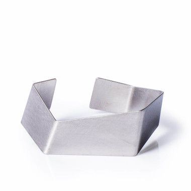 Origami Bracelet Ale Geometryczna Biuteria Autorska