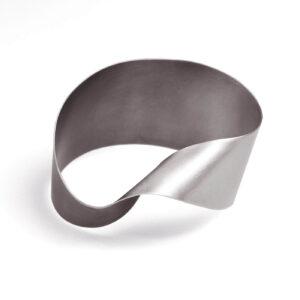 ALE. Bransoleta SERPENTYNY (S/B -13- AG), srebro