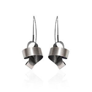 ALE. SERPENTINES earrings (S/K -51- AG), silver