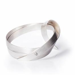 ALE. Bransoleta Zbiór Y (Y/B -404- AG), srebro