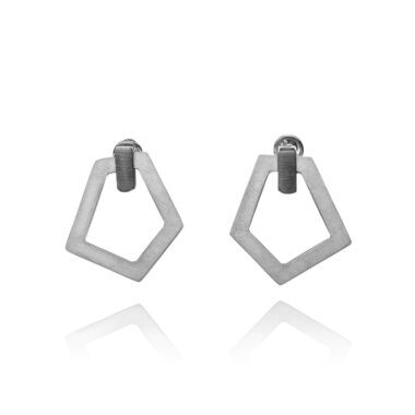 ALE. AIR earrings (A/K -6- S), stainless steel
