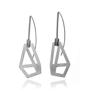ALE. AIR earrings (A/K -7- S), stainless steel