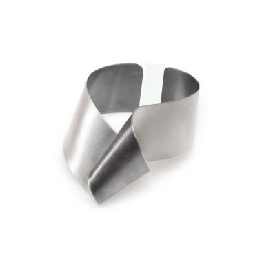 ALE. Bransoleta SERPENTYNY (S/B -15- AG) , srebro
