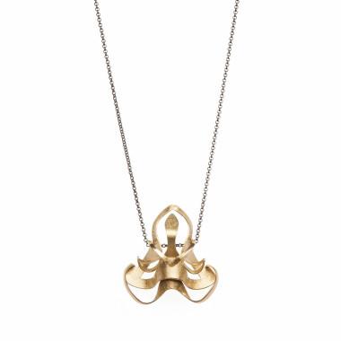 ALE. BIONIC necklace (B/N -2- M), brass