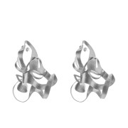 ALE. BIONIC earrings (B/K -14- S), stainless steel