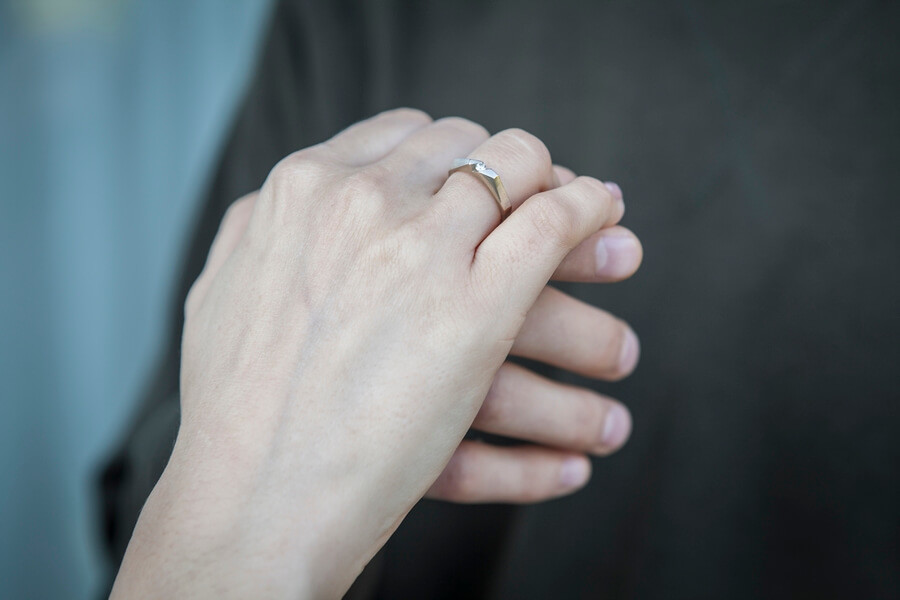 Marta i Grzegorz - pierścionek zaręczynowy ALE: 5