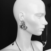 BIONIC earrings (B/K -14- S)