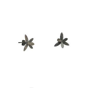 ALE. Kolczyki NEROLI (N/K -15- AG/X), srebro oksydowane