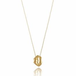 ALE. Naszyjnik CZUŁE SŁÓWKA (C/N -1- AU), srebro złocone