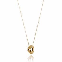 ALE. Naszyjnik CZUŁE SŁÓWKA (C/N -2- AU), srebro złocone