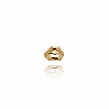 ALE. Pin CZUŁE SŁÓWKA (C/Pi -4- AU), srebro złocone