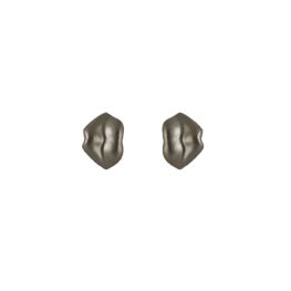 ALE. Kolczyki CZUŁE SŁÓWKA (C/K -7- OX), srebro oksydowane