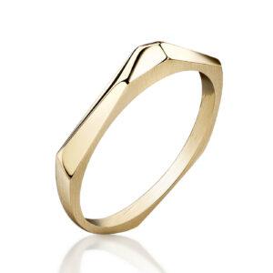ALE. Pierścionek N°3, żółte złoto