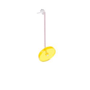 kolczyk SATELLITE LOLLIPPOP żółty mały